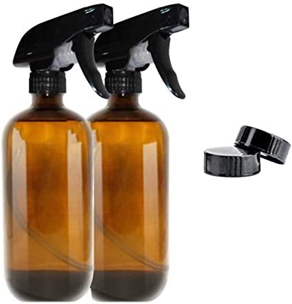 botella vidrio marron